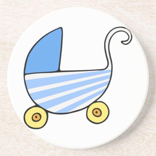 Carrinho de criança de bebê do menino porta copos para bebidas