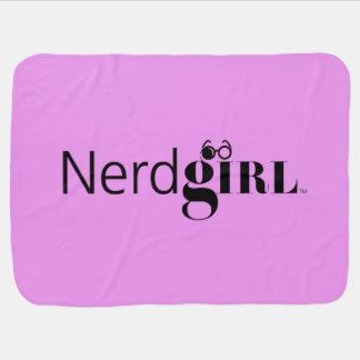 """Carrinho de criança de """"Nerdgirl""""/cobertura de Cobertores Para Bebe"""