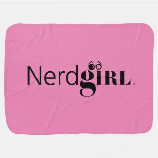 """Carrinho de criança de """"Nerdgirl""""/cobertura de Cobertorzinho Para Bebe"""