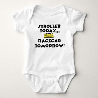 Carrinho de criança hoje, Racecar amanhã Tshirt