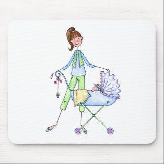 Carrinho de criança novo do bebé das mamães mouse pads