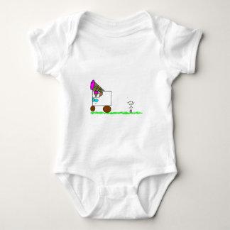 Carrinho de sorvete body para bebê