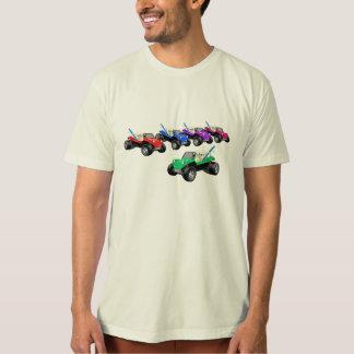 Carrinhos múltiplos t-shirts