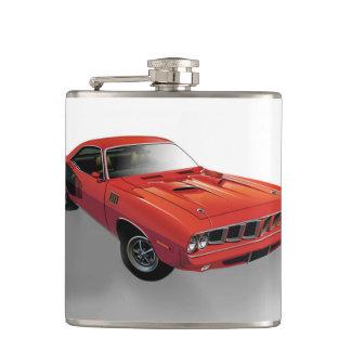 Carro americano vermelho do músculo