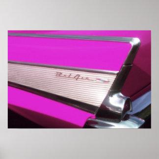 Carro clássico: Bel Air de Chevrolet Poster