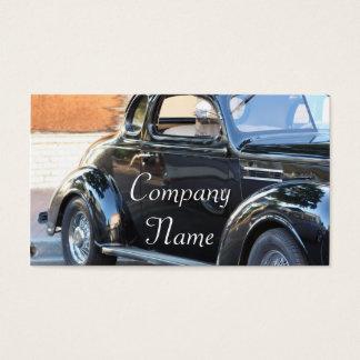 Carro clássico cartão de visitas