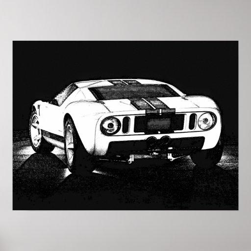 Carro da GT Posters
