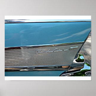 Carro do clássico de Chevy Impressão