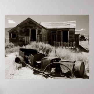 Carro e casa, Bodie Poster