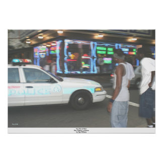 Carro na noite, Nova Orleães da bobina, Louisiana Posteres