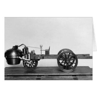 carro Vapor-psto inventado Cartões