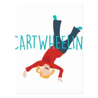 Carro Wheelin Cartão Postal