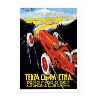 Carros de competência Prix grande do 1920 de Cartão Postal