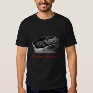 carros do meu sonhp camisetas