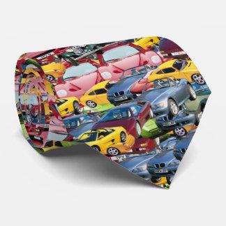 carros, gravata