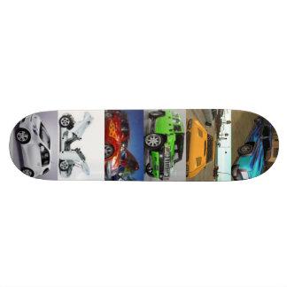 Carros Shape De Skate 19,7cm