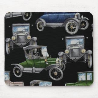 Carros velhos do tempo mouse pad