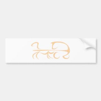 Carruagem do cavalo no estilo do desenho da abanad adesivos