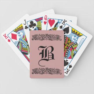 Carta De Baralho Cartões de jogo encadernados dos monstro