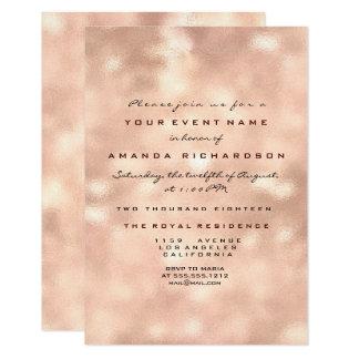Cartão 16o nupcial do aniversário cor-de-rosa de vidro