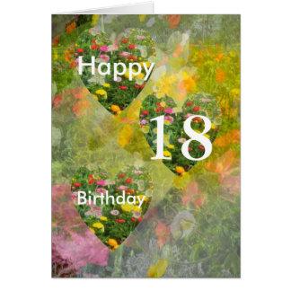 Cartão 18o Aniversário