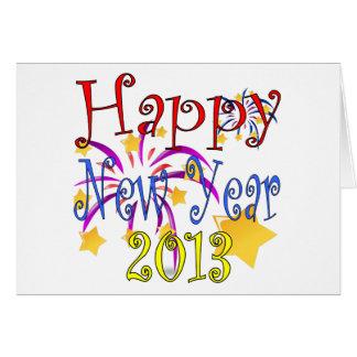 Cartão 2013 do feliz ano novo