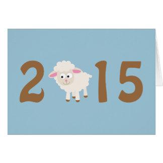 Cartão 2015 - Ano do design dos carneiros