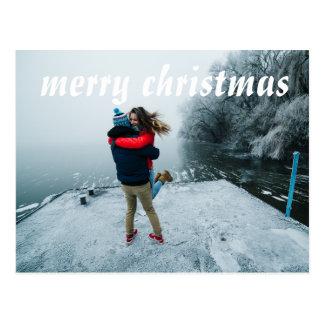 cartão 2017 do feliz ano novo do Feliz Natal Cartão Postal