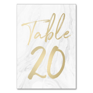 Cartão 20 do número da mesa do roteiro   do