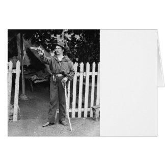 Cartão 39th Sharpshooter do regimento de New York: 1860s