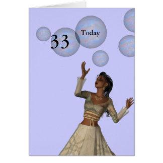 Cartão 3ó Aniversário