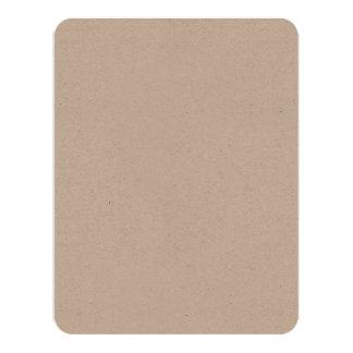 """Cartão 4,25"""" x 5,5"""" ambiental"""