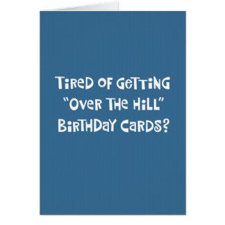 Cartão 59th cumprimento engraçado do aniversário