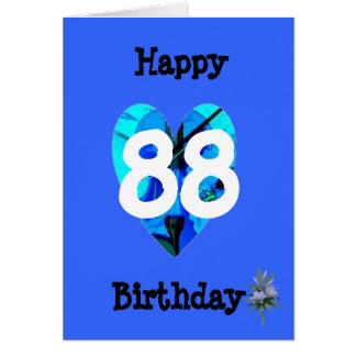 Cartão 88th Aniversário