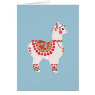 Cartão A alpaca