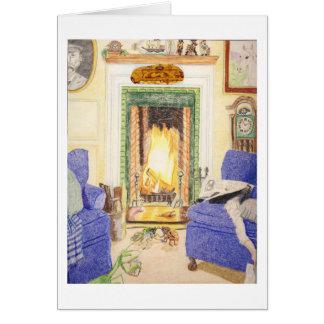 Cartão A canção da cigarra antes do fogo
