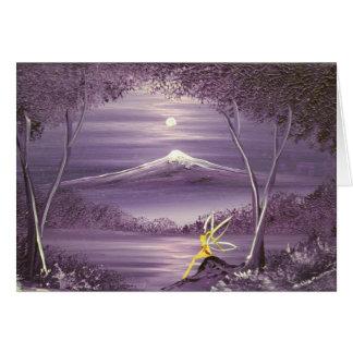 Cartão A fada da montanha