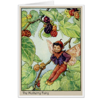Cartão A fada do Mulberry