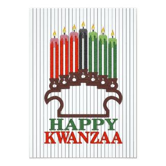 Cartão A glória à festa natalícia de Kwanzaa das