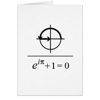 Cartão A identidade de Euler