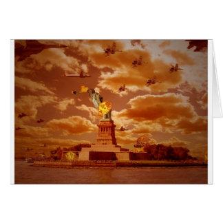 Cartão A invasão de NewYork