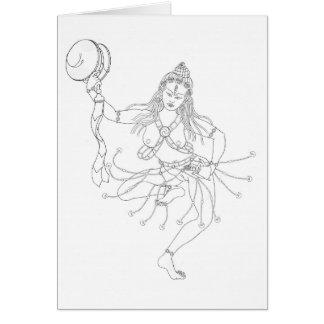 Cartão A lápis desenho de Labdrön das Mães-gÇig [cartão]
