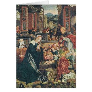 Cartão A natividade