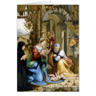 Cartão A natividade - Andrea a Dinamarca Salerno