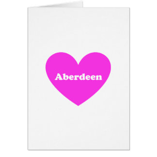 Cartão Aberdeen