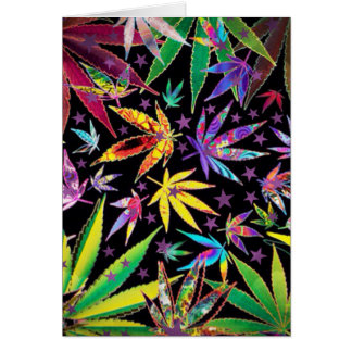 Cartão Adolescente colorido