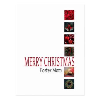 Cartão adoptivo   do Feliz Natal da mamã Cartao Postal