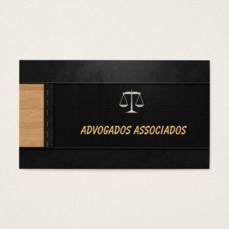 Cartão Advogado Cartão De Visita