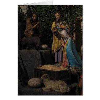 Cartão Afastado no Natal do comedoiro