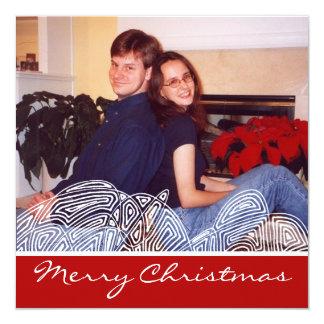 Cartão Agitação do Natal
